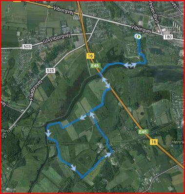 Tebbestrup Enge 10,5 kilometer