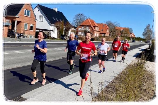 Danmark løber